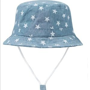 Fourth of July America Star Bucket Hat for Baby